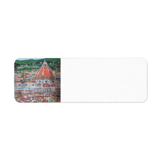 The Duomo of Florence - Labels