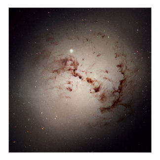 The Dusty Galaxy NGC 1316 Poster