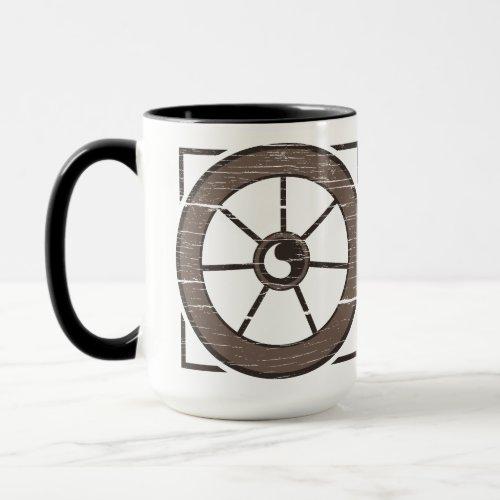 The Dusty Wheel: The Wheel & Show Mug