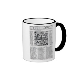 The Dutch Boare dissected Ringer Mug
