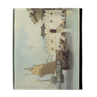 The Dutch Folly Fort off Canton (watercolour) iPad Folio Cases