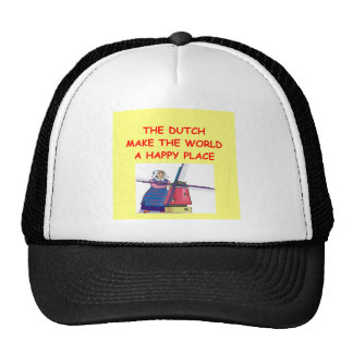 the dutch mesh hats