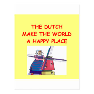 the dutch postcard