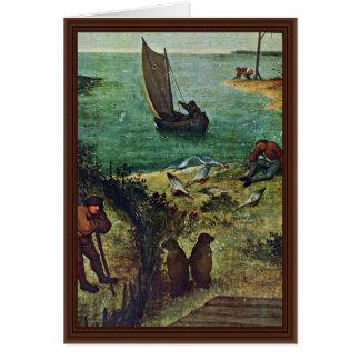 The Dutch Proverbs Detail By Bruegel D. Ä. Pieter Card