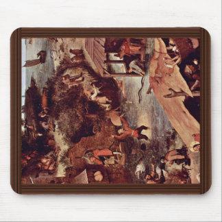 The Dutch Proverbs Detail By Bruegel D. Ä. Pieter Mouse Pad