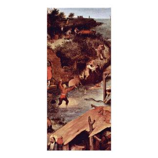 The Dutch Proverbs Detail By Bruegel D. Ä. Pieter Custom Rack Cards