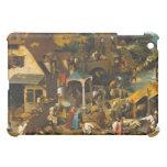 The Dutch Proverbs - Pieter Bruegel Cover For The iPad Mini