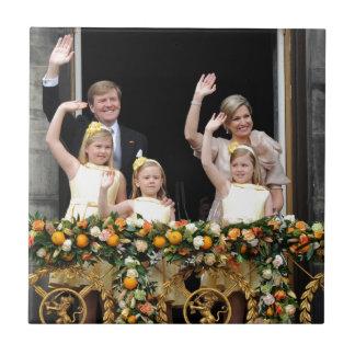 The Dutch Royal Family Ceramic Tile