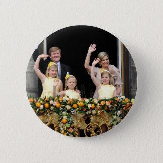 The Dutch Royal Family Pinback Button