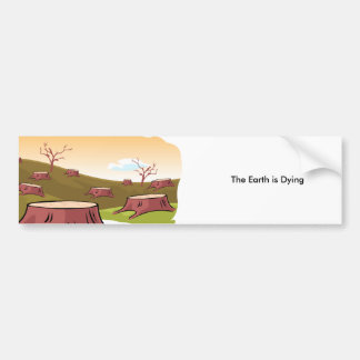 The Dying Earth Sticker Bumper Sticker