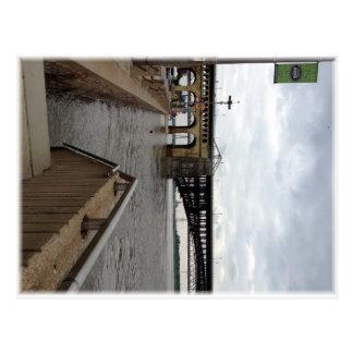 The Eads Bridge, Postcard
