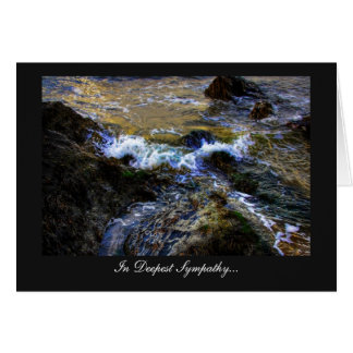 The Eager Tide - In Deepest Sympathy Cards