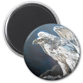The Eagle 2 Inch Round Magnet