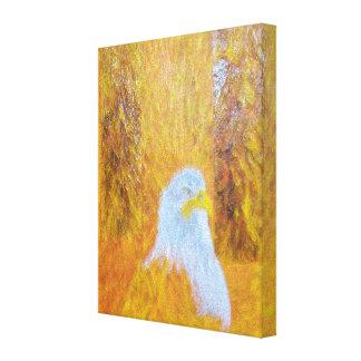 The Eagle & 9-11 Canvas Print