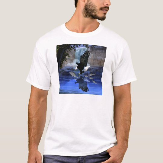 The eagle and the waterfall T-Shirt
