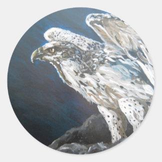 The Eagle Classic Round Sticker