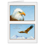 The Eagle Greeting Card Isaiah 40:31