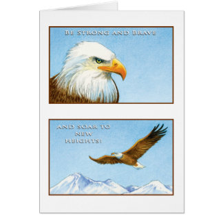 The Eagle Greeting Card Isaiah 40:31