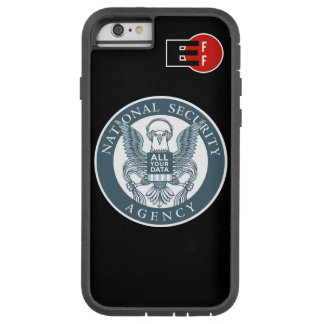 """""""The Eagle Has All Your Data"""" iPhone 6 Xtreme Case"""