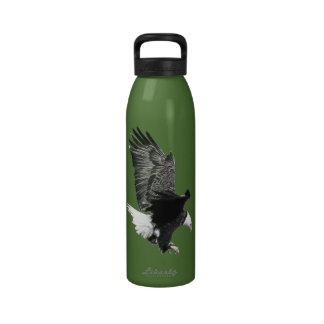 The Eagle Is Landing Water Bottles