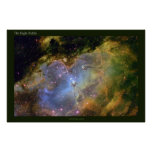 The Eagle Nebula a Distant View Poster