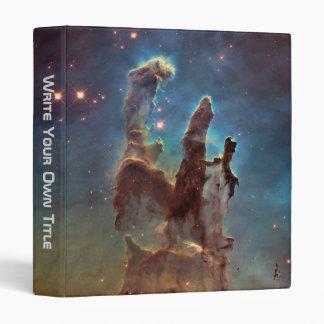 The Eagle Nebula aka The Pillars Of Creation 3 Ring Binder