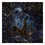 The Eagle Nebula aka The Pillars Of Creation Poster