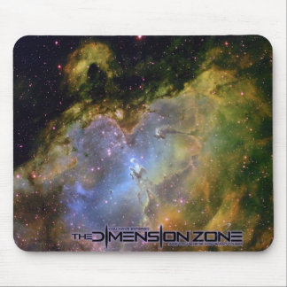 The Eagle Nebula Distant View Mouse Pad