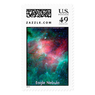 The Eagle Nebula in infrared Stamps