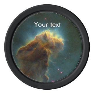The Eagle Nebula Poker Chips Set