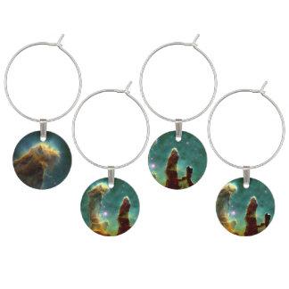 The Eagle Nebula Wine Charms