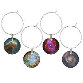 The Eagle Nebula Wine Charm
