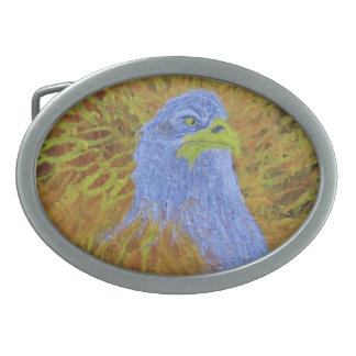 The Eagle Oval Belt Buckle