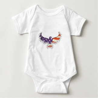 The Eagle Rises Baby Bodysuit