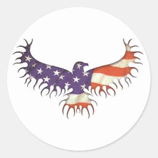 The Eagle Rises Stickers