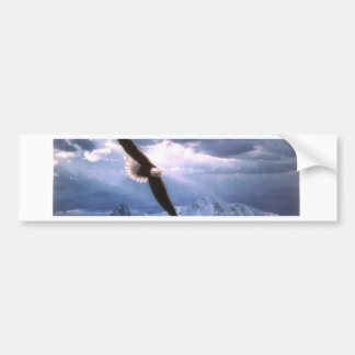 The Eagle Weathers the Storm Bumper Sticker