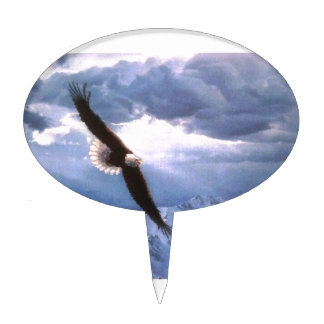 The Eagle Weathers the Storm Cake Topper