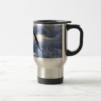 The Eagle Weathers the Storm Travel Mug