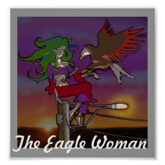 The Eagle Woman Poster