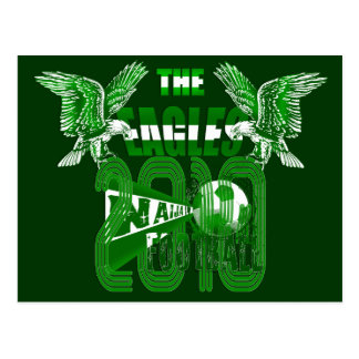 The Eagles 2010 Grunge Naija graphic Tees Postcard