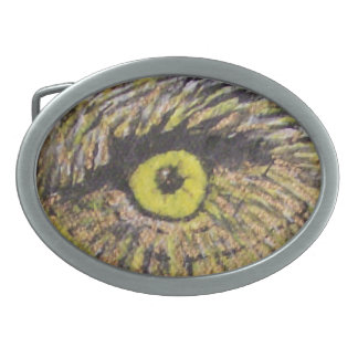The Eagles Eye Oval Belt Buckle