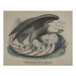 The Eagle's nest The Union [1861] Posters