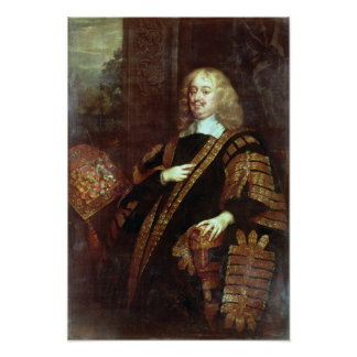 The Earl of Clarendon, Lord High Chancellor Poster