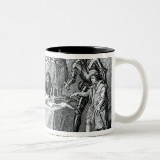 The Earl of Pembroke Presenting Henry III Two-Tone Coffee Mug