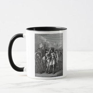 The Earl of Richmond chosen King Mug