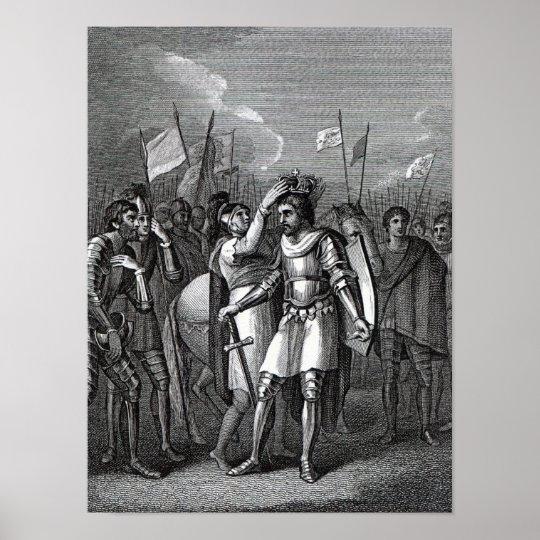 The Earl of Richmond chosen King Poster