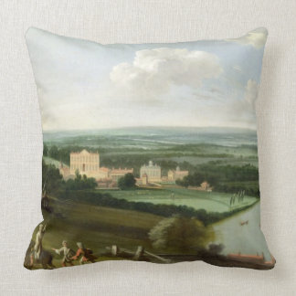 The Earl of Rochester's House, New Park, Richmond, Throw Pillow