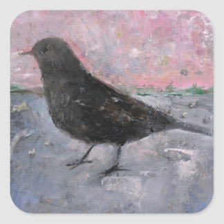 The Early Bird 2008 Square Sticker