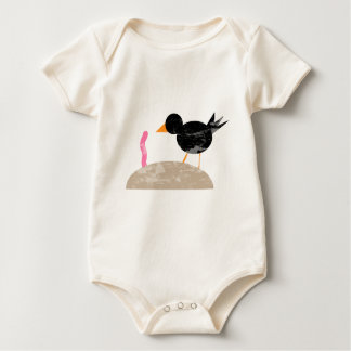 The Early Bird Catches the Worm Baby Bodysuit
