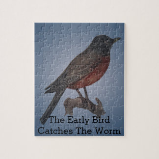 The Early Bird Catches The Worm Jigsaw Puzzle